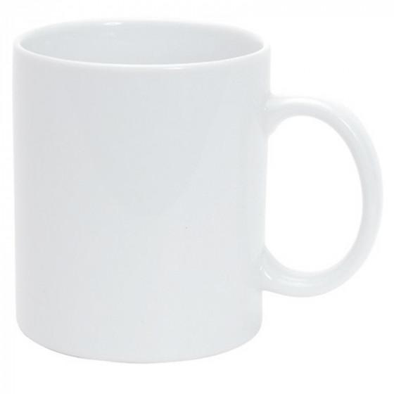 Bögre, 300 ml fehér porcelán (fényképpel vagy akár céges logóval)