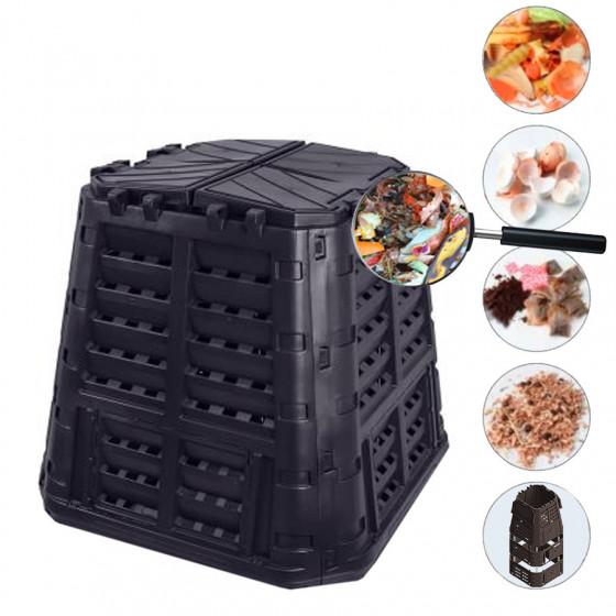 Komposztáló láda, 420L (480L) műanyag