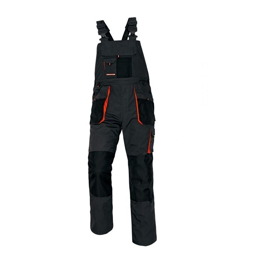 EMERTON szürke fekete narancssárga derekas nadrág