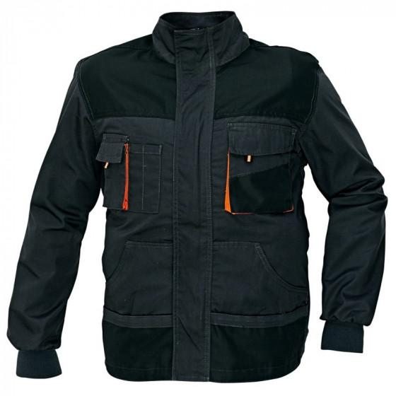 EMERTON szürke-fekete-narancssárga munkás dzseki