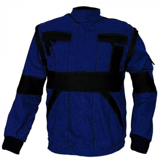 MAX kék-fekete munkás dzseki 2in1