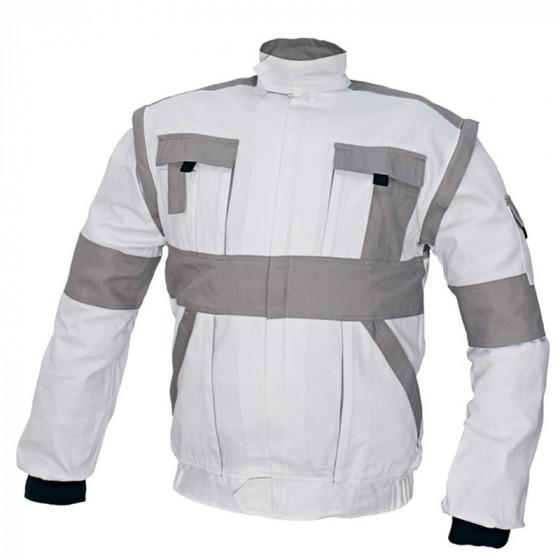 MAX fehér-szürke munkás dzseki 2in1
