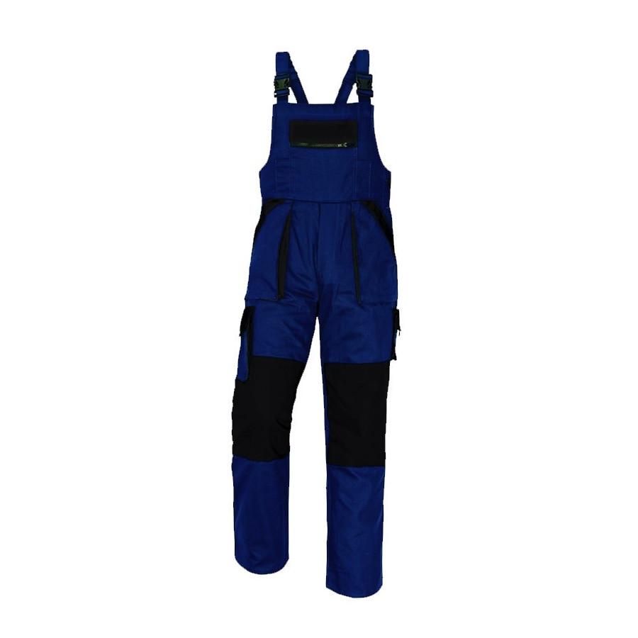 MAX kék-fekete melles (kertész) nadrág