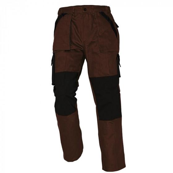 MAX barna-fekete derekas nadrág
