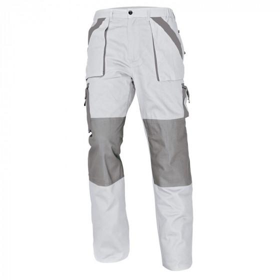 MAX fehér-szürke derekas nadrág
