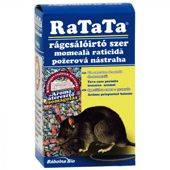 RaTaTa® rágcsálóirtó szer 2x75g