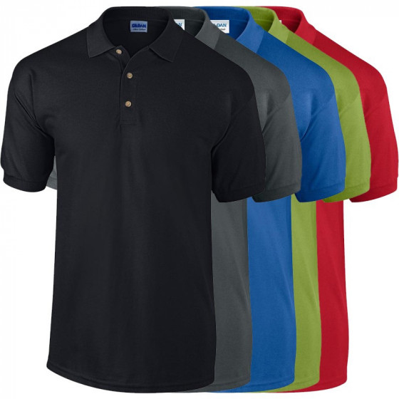 GI3800 ULTRA COTTON™ ADULT PIQUE POLO SHIRT GALLÉROS PÓLÓ SZÍNES
