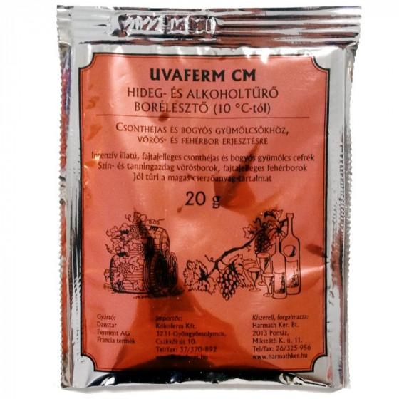 UVAFERM CM hideg- és alkoholtűrő borélesztő 20 g
