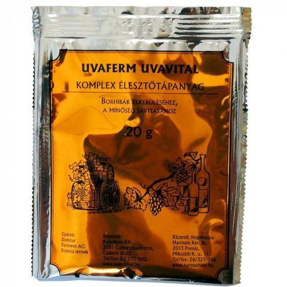 UVAFERM UVAVITAL komplex élesztőtápanyag 20 g