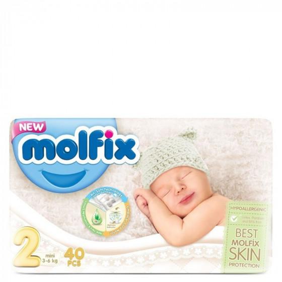 MOLFIX Ekonomi Mini pelenka (2-es méret) 40 db-os