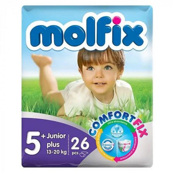 MOLFIX Jumbo Junior Plusz pelenka (5+ -os méret) 26 db-os