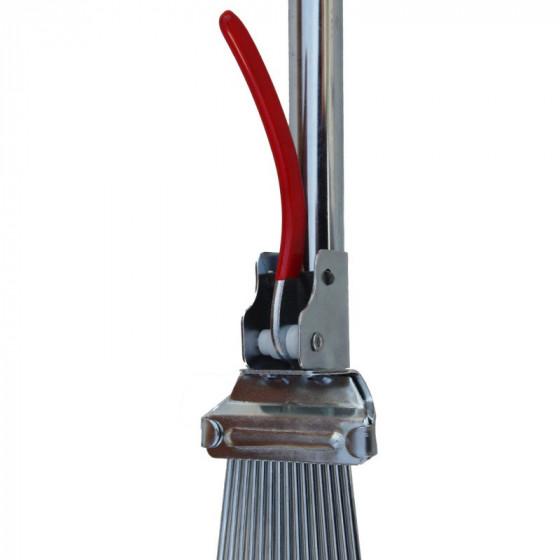 Lombseprű pálcás fogú, fém nyeles, állítható - MUTA Profi - [TM]