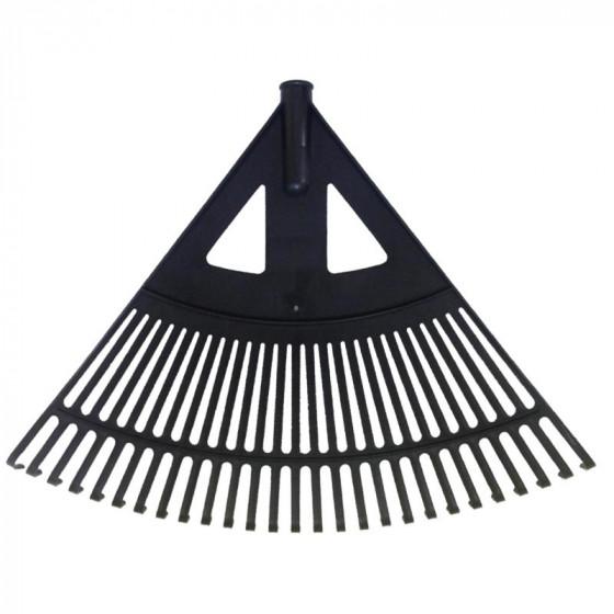 Lombseprű műanyag, 60 cm íves fekete - MUTA Hobby
