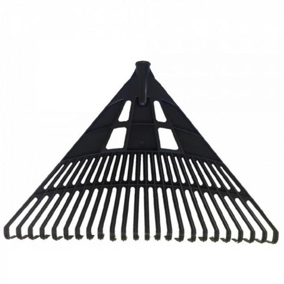 Lombseprű műanyag, 60 cm egyenes fekete - MUTA Hobby