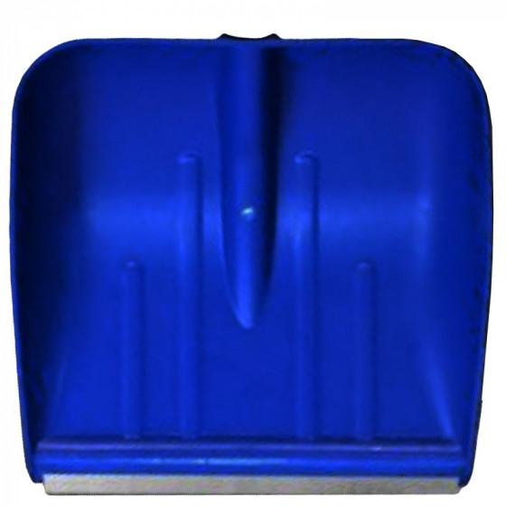 Hólapát műanyag 38cm-es, színes,  alumínium élvédővel
