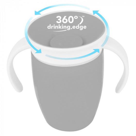 Munchkin Miracle 360 automatikusan záródó tanulópohár 207 ml 6 hó+