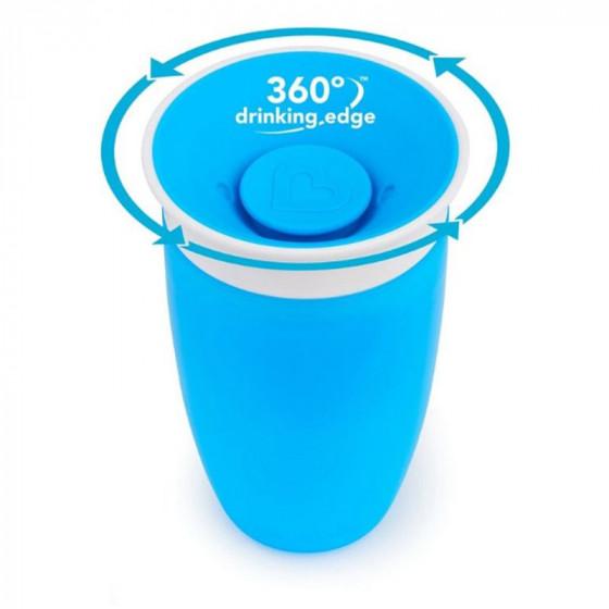 Munchkin Miracle 360 automatikusan záródó ivópohár 296 ml 12 hó+
