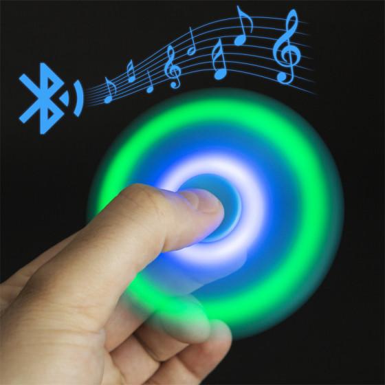 Fidget Spinner - LED-es, bluetoothos pörgettyű