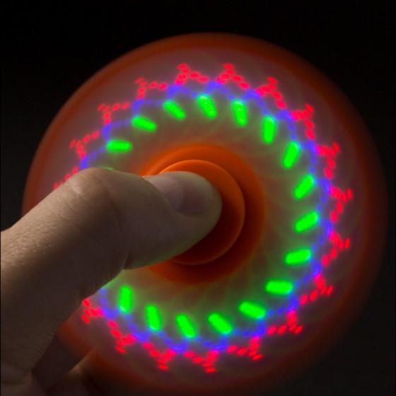 Fidget Spinner - LED-es pörgettyű