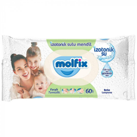MOLFIX popsitörlő izotóniás 60 db-os