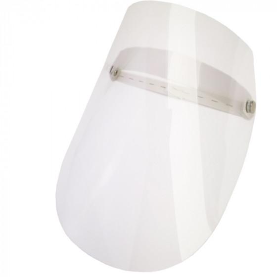 Egész arcot védő, víztiszta felhajtható plexi pajzs